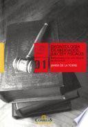 Deontología de abogados, jueces y fiscales