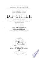 Derecho constitucional; constituciones de Chile, Francia, Estados Unidos, República Argentina, Brasil, Bélgica, España, Inglaterra y Suiza
