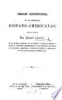 Derecho constitucional de las repúblicas hispano-americanas