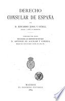 Derecho consular de España