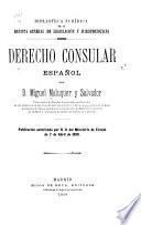 Derecho consular español