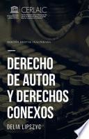 Derecho de autor y derechos conexos