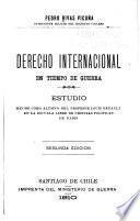 Derecho internacional en tiempo de guerra