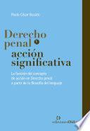 Derecho penal y acción significativa