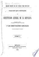 Derecho político de los Estados-Unidos Mexicanos, colección que comprende la Constitución General de la República