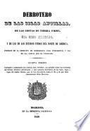 Derrotero de las islas Antillas