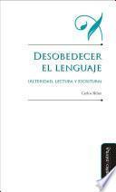 Desarrollo del lenguaje (alteridad, lectura y escritura)