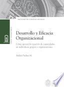 Desarrollo y eficacia organizacional