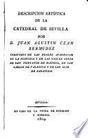Descricion artistica de la Catedral de Sevilla