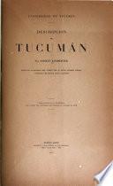 Descripción de Tucumán