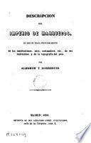 Descripcion del imperio de Marruecos
