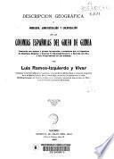Descripción geográfica y gobierno, administración y colonización de las colonias españolas del Golfo de Guinea