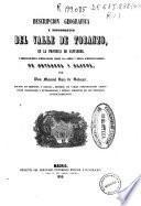 Descripción geográfica y topográfica del Valle de Toranzo, en la provincia de Santander y observaciones hidrológicas sobre los baños y aguas hidrosulfuradas de Ontaneda y Alceda