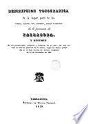 Descripción topográfica de la mayor parte de los pueblos, caminos, rios, torrentes, arroyos y barrancos de la provincia de Tarragona