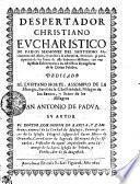 DESPERTADOR CHRISTIANO EVCHARISTICO