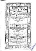 Despertador christiano santoral de varios sermones de santos, de anniuersarios de animas y honras ...