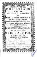 Despertador cristiano marial de varios sermones de María Sma. Ntra. en sus festividades