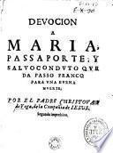 Devocion a Maria
