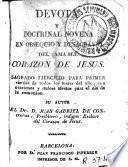Devota y doctrinal novena en obsequio y desagravio del amable corazón de Jesús