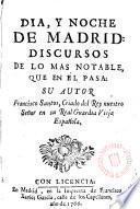 Dia y noche de Madrid