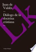 Diálogo de la doctrina cristiana