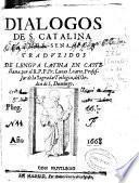Dialogos de S. Catalina de Sena