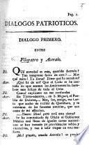Diálogos patrióticos. D. primero (-décimosexto) entre Filopatro y Aceraio