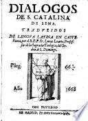 Dialogos ; traduzidos de lengua latina en castellana, por Lucas Loarte