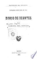 Diario de debates de la Cámara del Senado