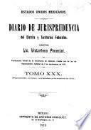 Diario de jurisprudencia del Distrito y territorios federales