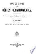 Diario de las sesiones ... 1838 (-1921/2).