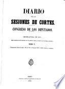 Diario de las Sesiones de Cortes, Congreso de los Diputados