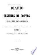 Diario de las sesiones de Cortes ...