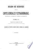 Diario de las sesiones de Cortes, Legislatura de ...