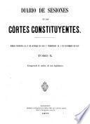 Diario de las sesiones de Cortes0