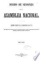 Diario de las Sesiones de la Asamblea Nacional