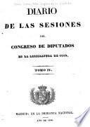 Diario de las sesiones del Congreso de diputados en la legislatura de 1840