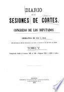 Diario de las sesiones ...