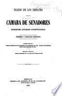 Diario de los debates de la Cámara de Senadores, duodecimo Congreso Constitucional