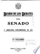 Diario de los debates del Senado