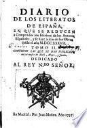 Diario de los literatos de España, 2