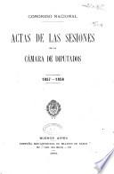 Diario de sesiones de la Cámara de Diputados