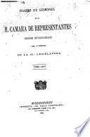 Diario de sesiones de la Cámara de Representantes