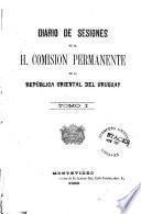 Diario de sesiones de la H. Comisión Permanente de la República Oriental del Uruguay