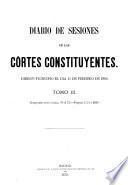 Diario de sesiones de las Córtes Constituyentes de la República Española