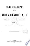 Diario de Sesiones de las Cortes Constituyentes