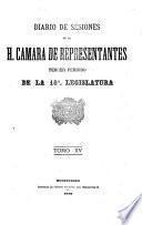 Diario de sesiones