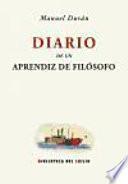 Diario de un aprendiz de filósofo