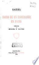 Diario de un estudiante en París