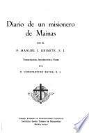 Diario de un misionero de Mainas